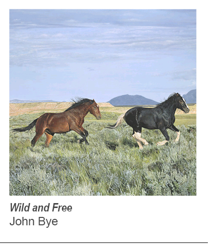 """Wild and Free"" by John Bye"