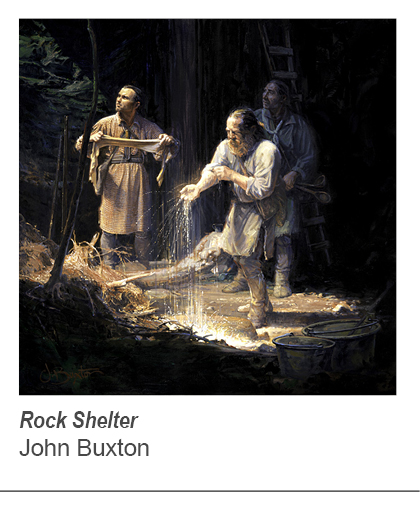 """Rock Shelter"" by John Buxton"