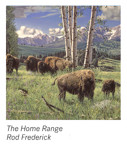 """""""The Home Range"""" by Rod Frederick"""