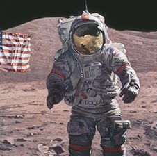 """The American"" by Alan Bean"