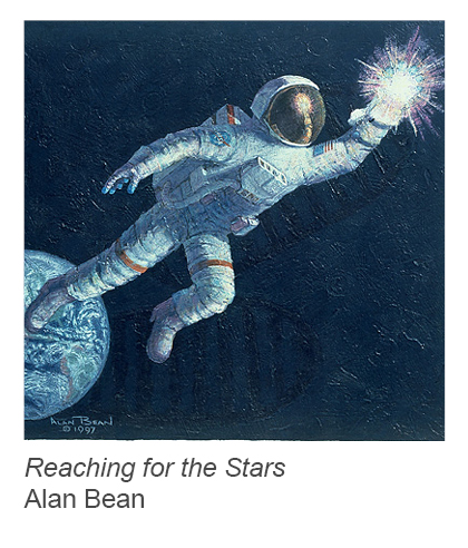 """Reaching for the Stars"" by Alan Bean"