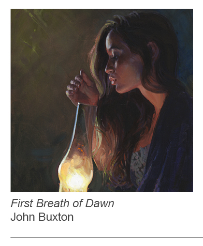 """First Breath of Dawn"" by John Buxton"