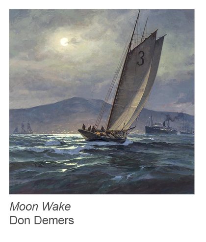 """Moon Wake"" by Don Demers"