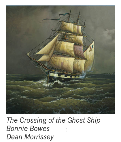 """""""The Crossing of the Ghost Ship Bonnie Bowes"""" by Dean Morrissey"""