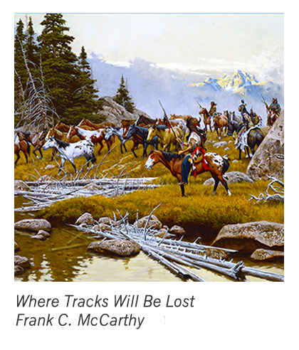 """""""Where Tracks Will be Lost"""" by Frank C. McCarthy"""