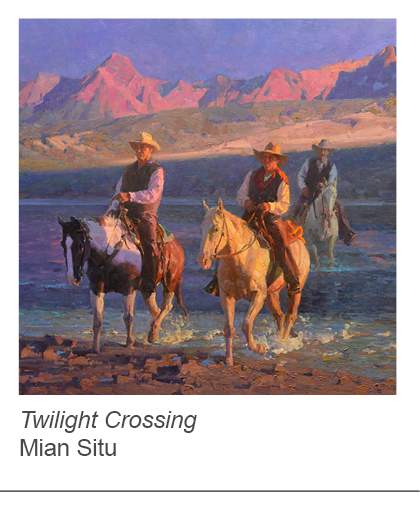 """Twilight Crossing"" by Mian Situ"