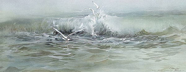 Carolyn Blish - MISTY SEA -  LIMITED EDITION PRINT Published by the Greenwich Workshop