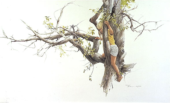 Carolyn Blish - DISCOVERY -  LIMITED EDITION PRINT Published by the Greenwich Workshop