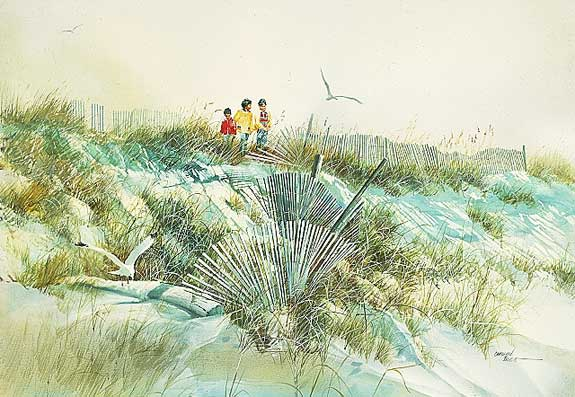 Carolyn Blish - DUNE SWEEP -  LIMITED EDITION PRINT Published by the Greenwich Workshop