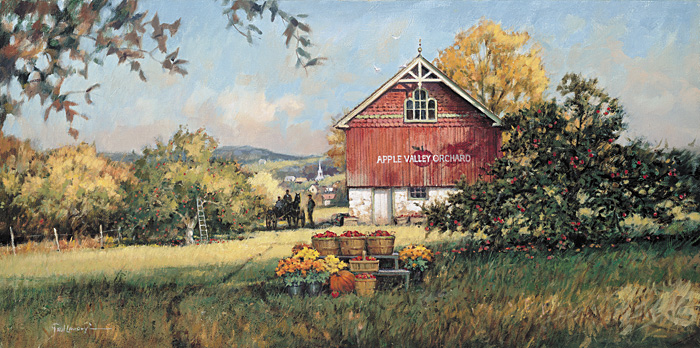 Paul Landry Apple Valley Orchard Limited Edition Print