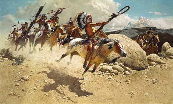 how warlike were the sioux The santee sioux were semi the kiowa were very warlike the navaho are now the largest indian nation in the united states and have a large reservation.